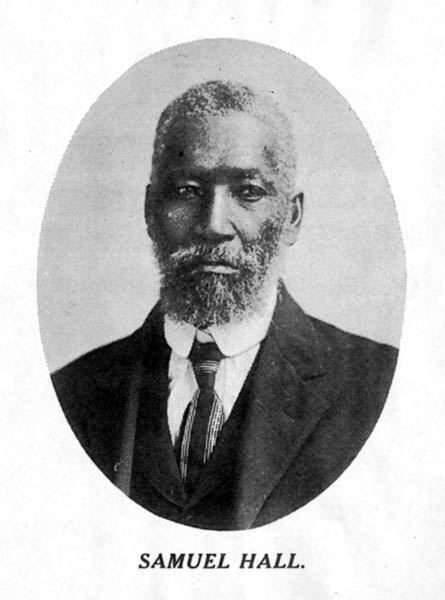 samuel hall  b  1818 and orville elder  b  1866  samuel hall  47 years a slave  a brief story of